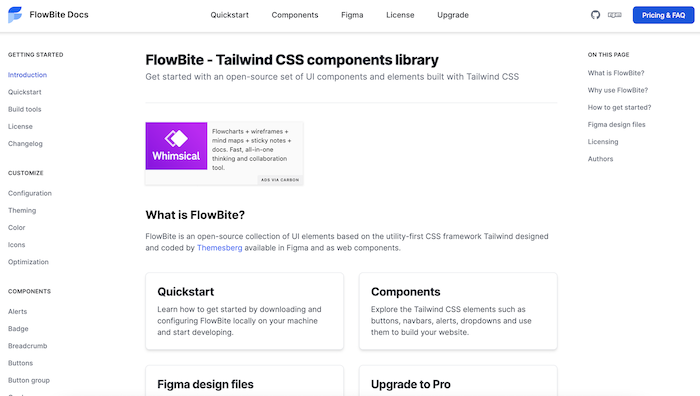 Tailwind CSS components
